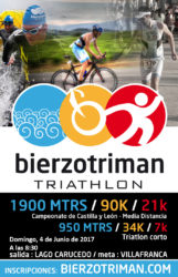 III BIERZO TRIMAN . TRIATLON DE M.D.  Y DISTANCIA SHORT