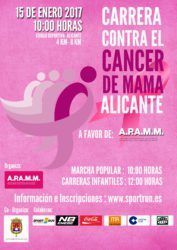 CARRERA CONTRA EL CANCER DE MAMA DE ALICANTE