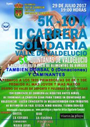 II CARRERA POPULAR SOLIDARIA VALLE DE VALDELUCIO