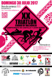 XX TRIATLON DE VALLADOLID (CPTO. DE CYL DE TRIATLON SPRINT)