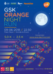 GSK ORANGE NIGHT RUN
