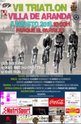 VII TRIATLON OLIMPICO VILLA DE ARANDA (SIN DRAFTING)