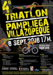 TRIATLON SPRINT DE PAMPLIEGA Y VILLAZOPEQUE (sin drafting)